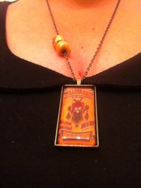 I found this Trader Sam's necklace on etsy.