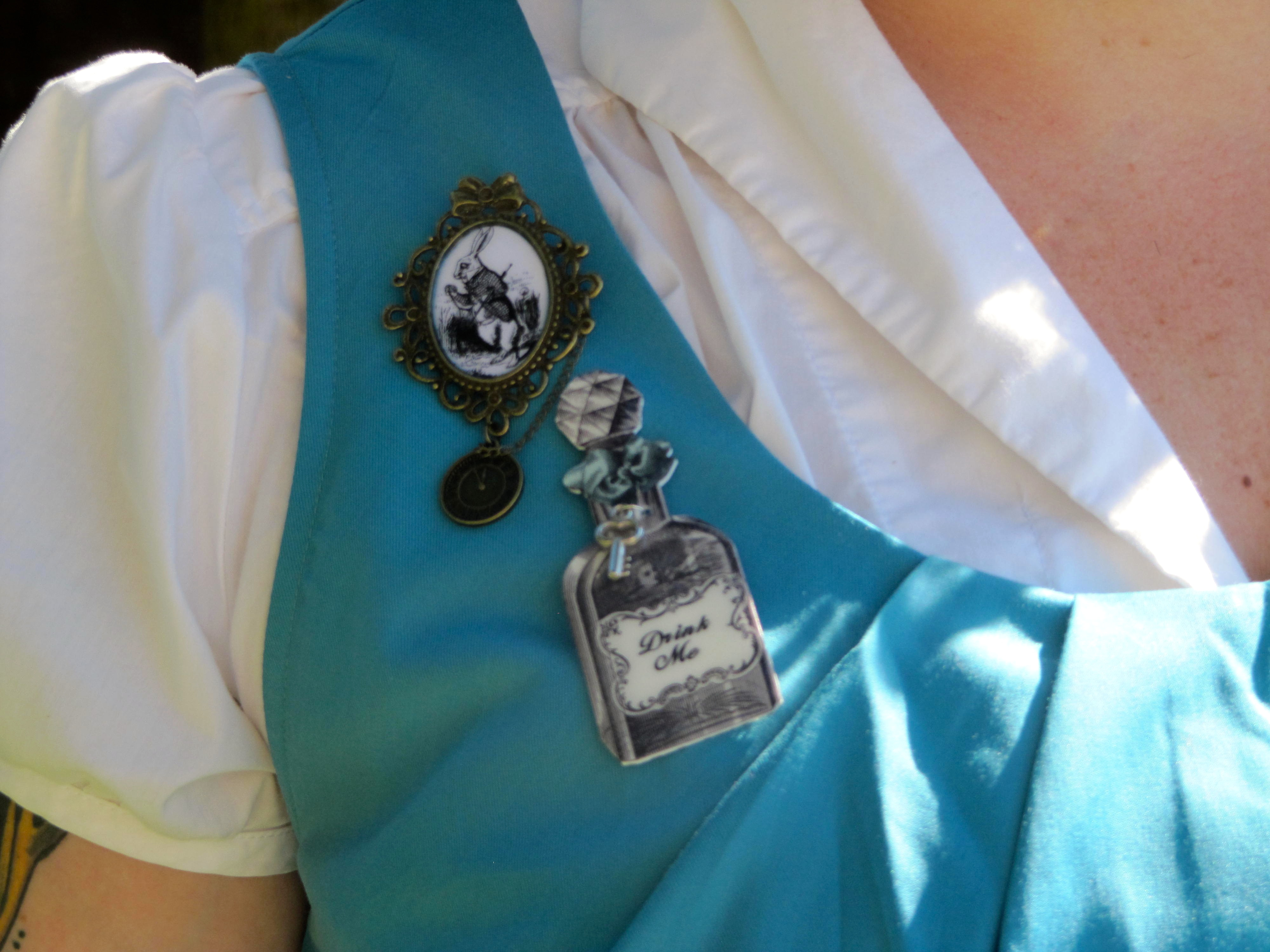 First day at EPCOT as Alice in Wonderland