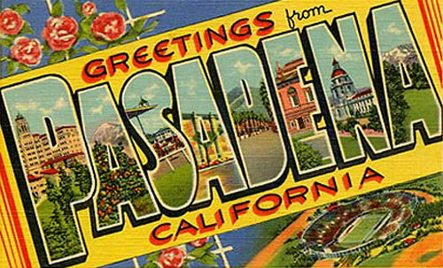 Pasadena Greetings