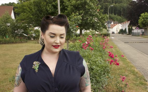 Sheila-Lee – Pantskirt/Playsuit by Miss Candyfloss