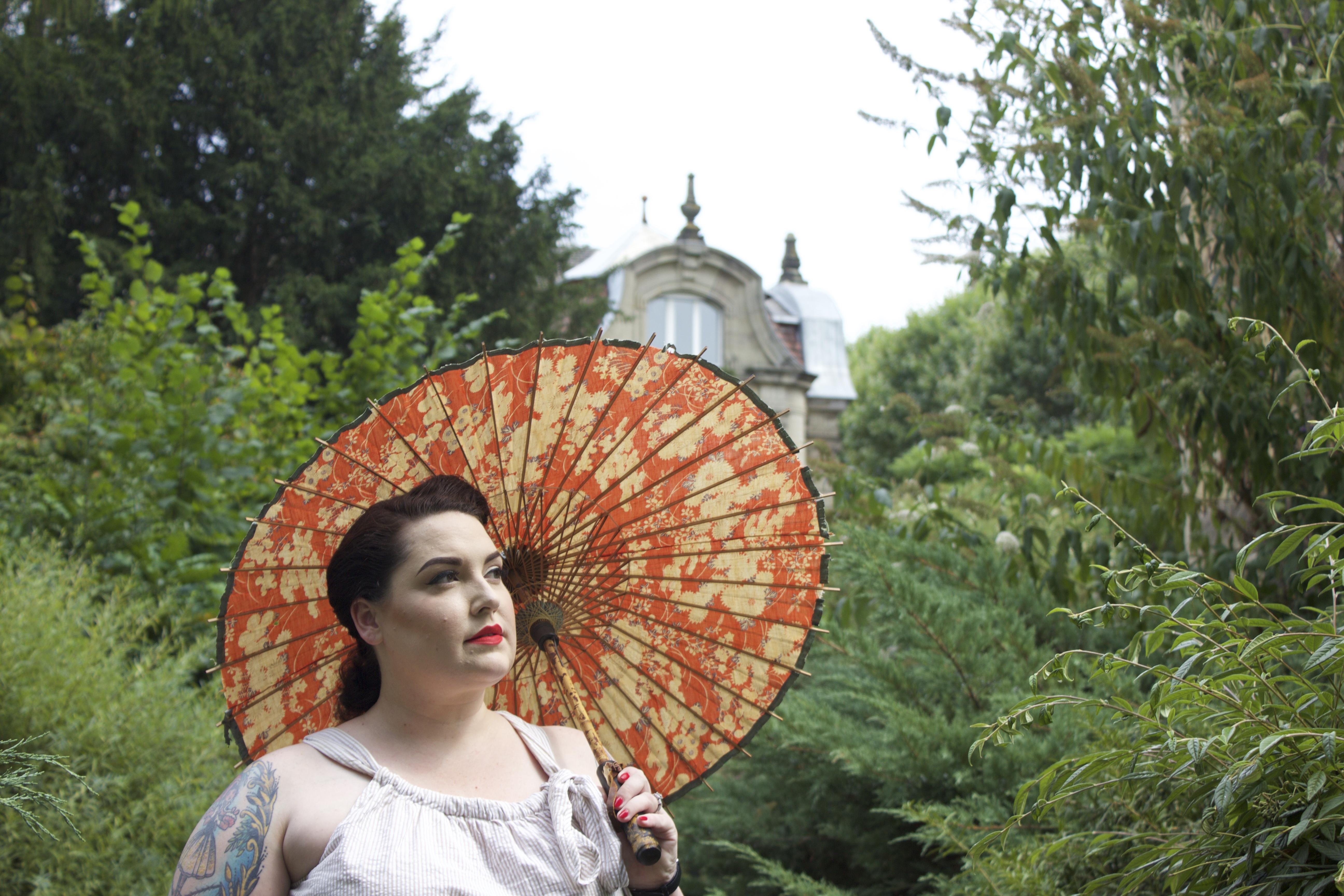 Seersucker dress in Metz