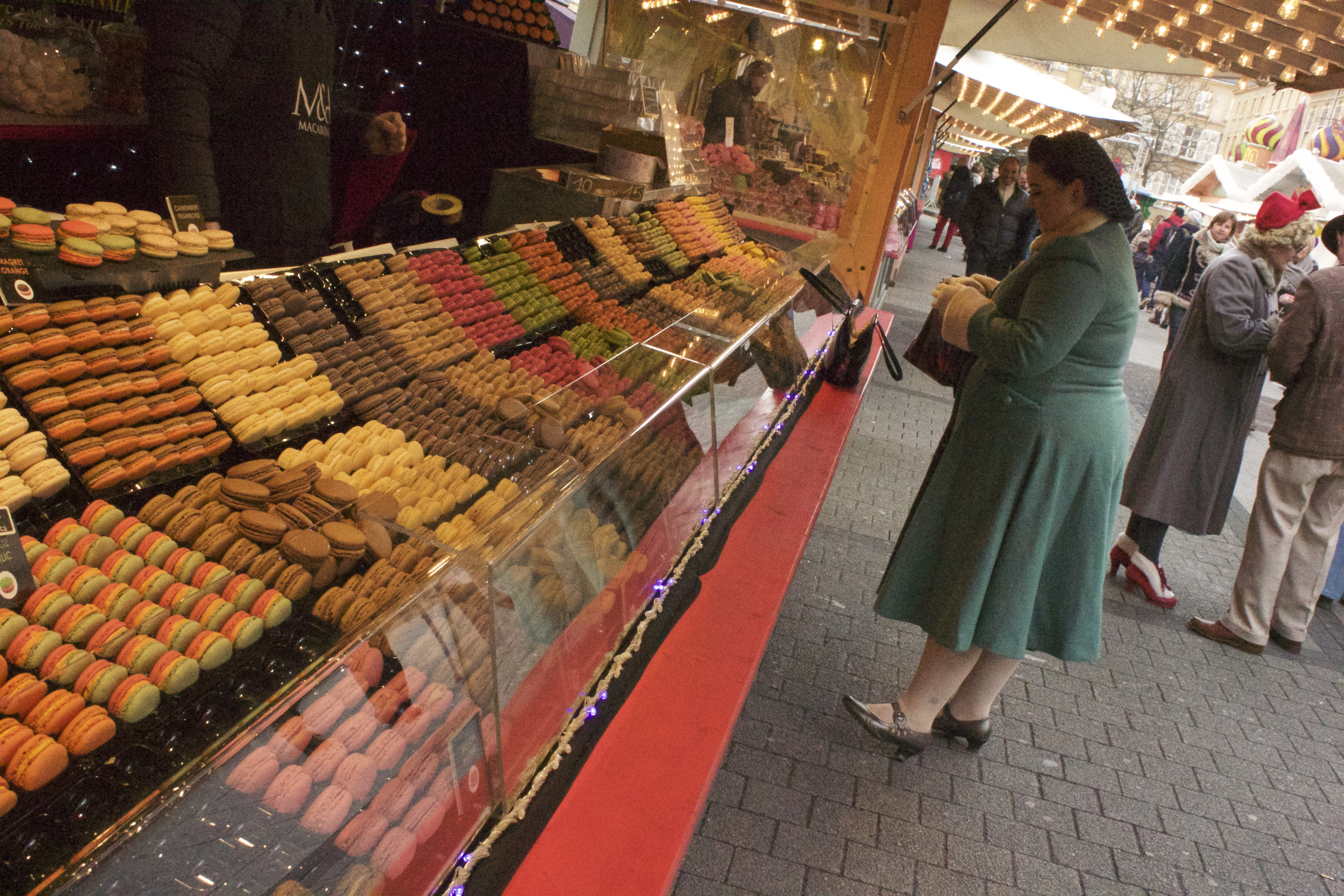 I would have bought the entire stall of macarons if no one was looking.