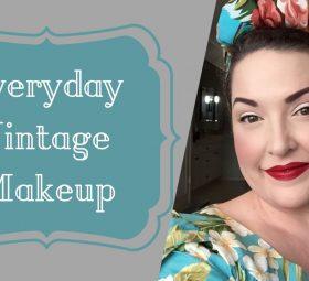 Everyday Vintage Makeup