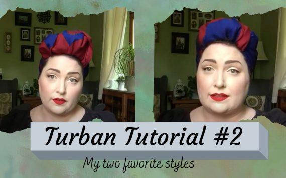 Turban/Headscarf Tutorial