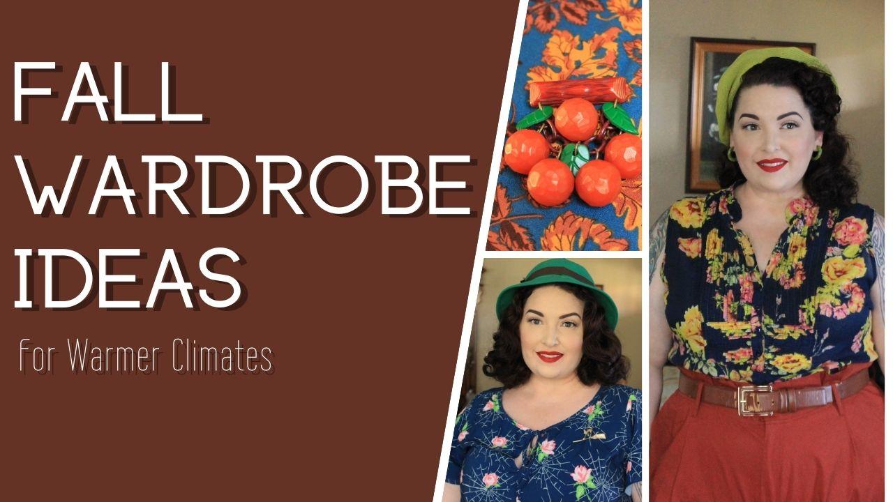 Fall Wardrobe Ideas for Warmer Climates