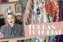 Turban Tutorial – Six Different Styles