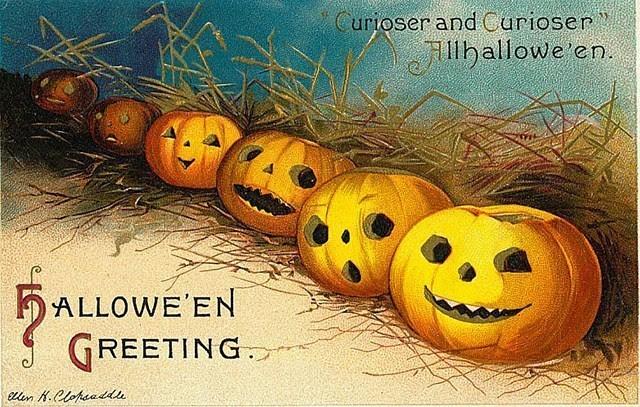 Vintage Halloween Inspiration from Pinterest