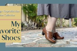 My Favorite Shoes ~ Vintage Reproduction Shoe Collection