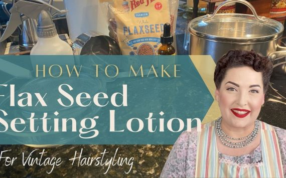 How to Make Flax Seed Setting Lotion