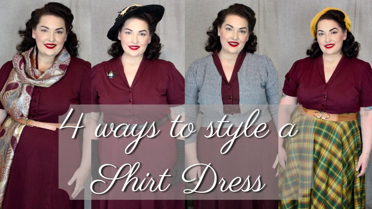 4 Ways to Style a Classic Shirt Dress