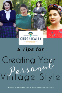 Creating your personal style pin