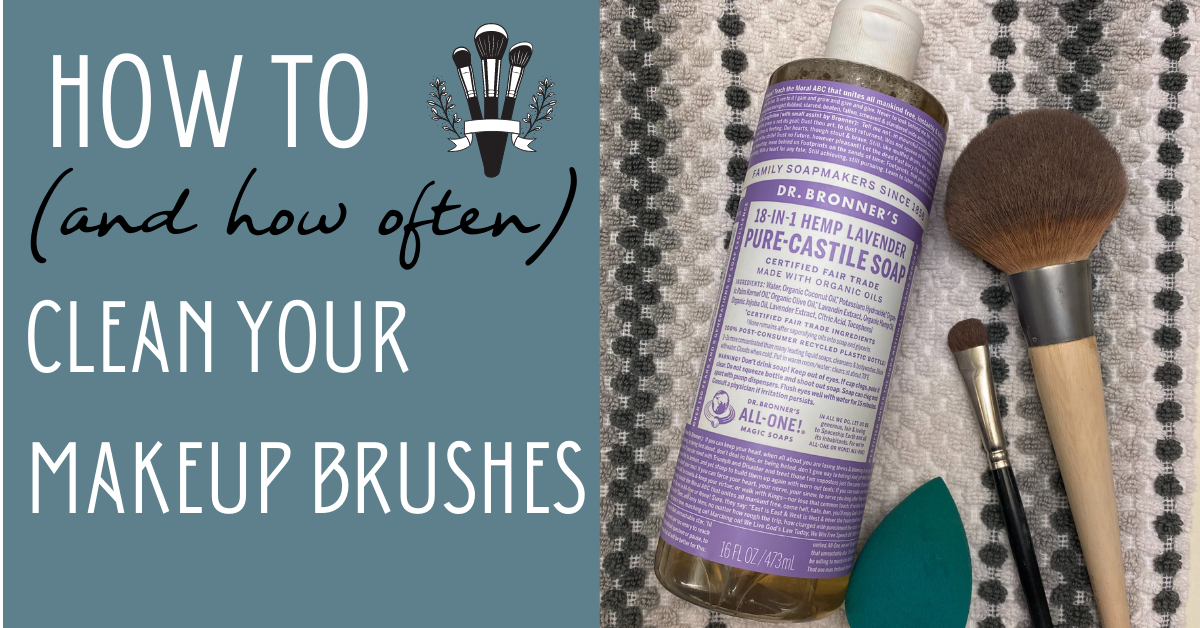 How to (and how often) Clean Your Makeup Brushes