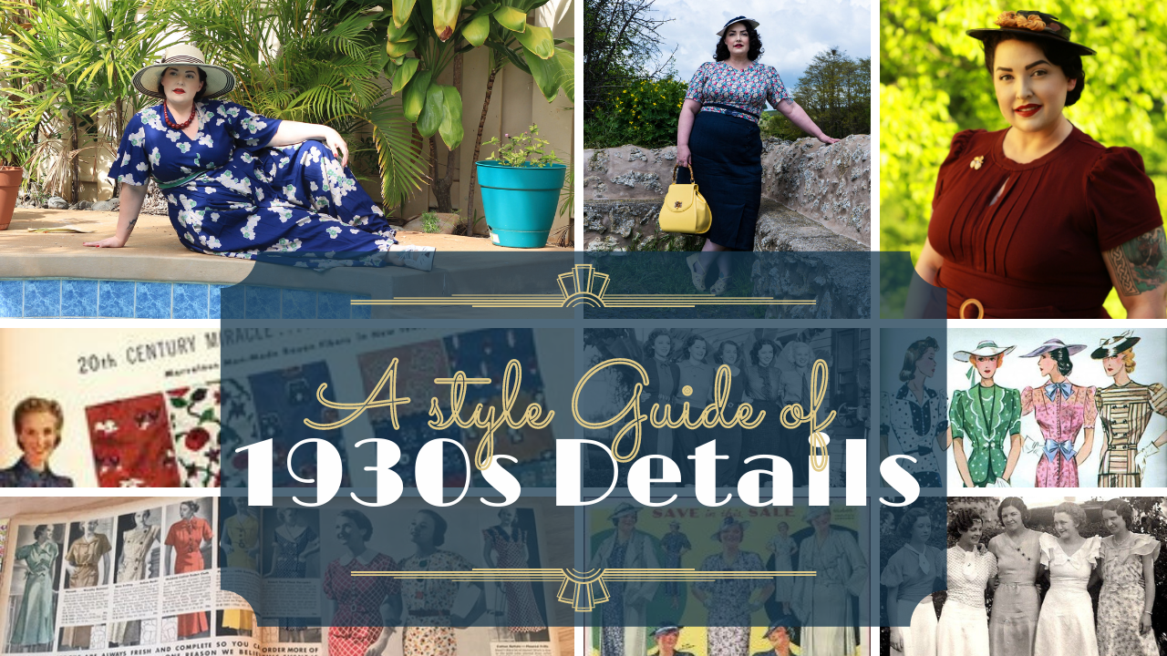 A Style Guide of 1930s Details