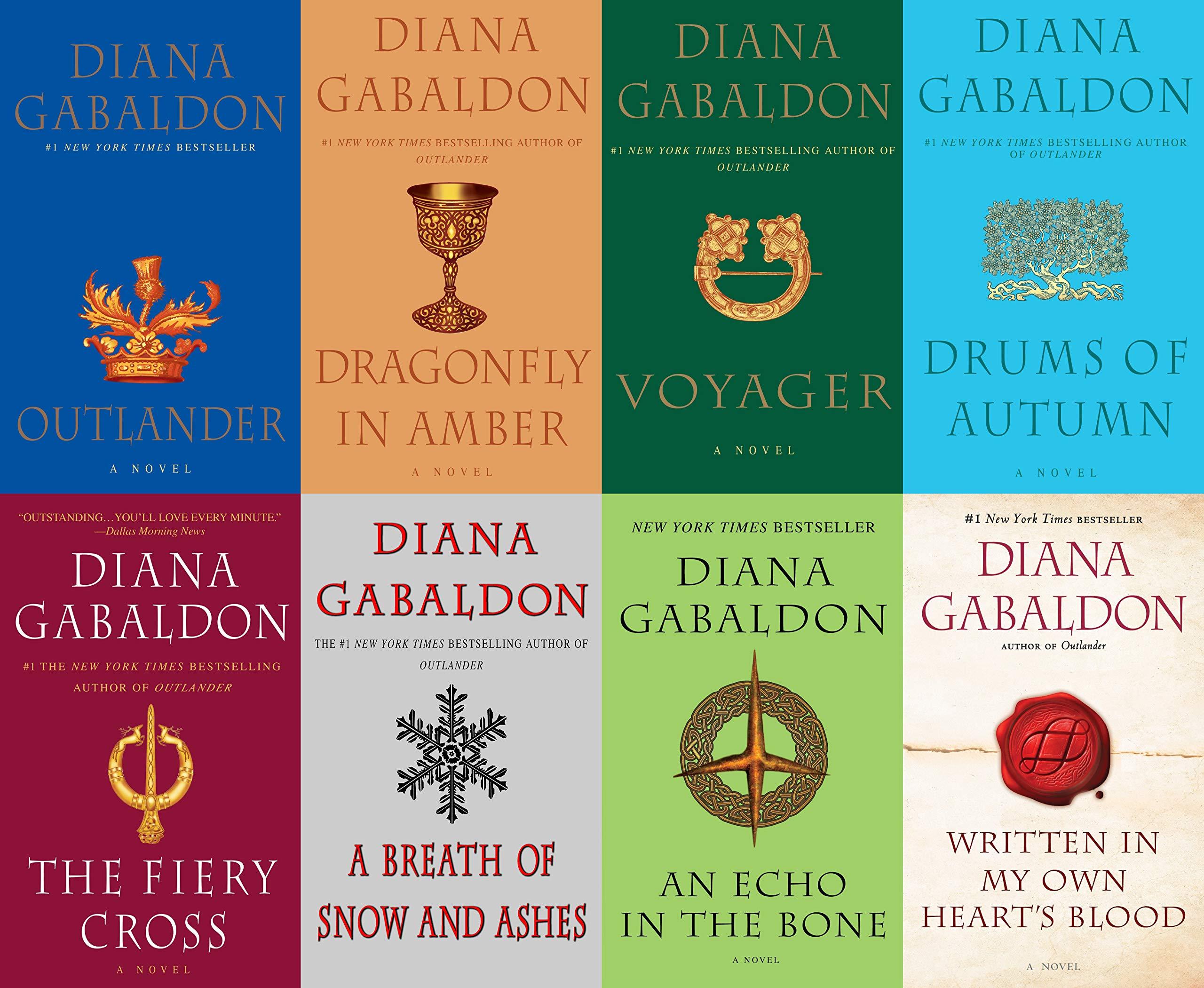 Outlander Book Series, all eight books