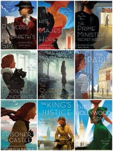 Maggie Hope Series Book Covers