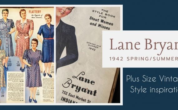 1942 Plus Size Vintage Styles from Lane Bryant Catalog