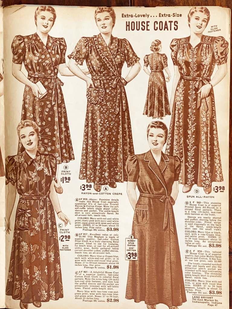 1942 Lane Bryant Spring Summer Catalog